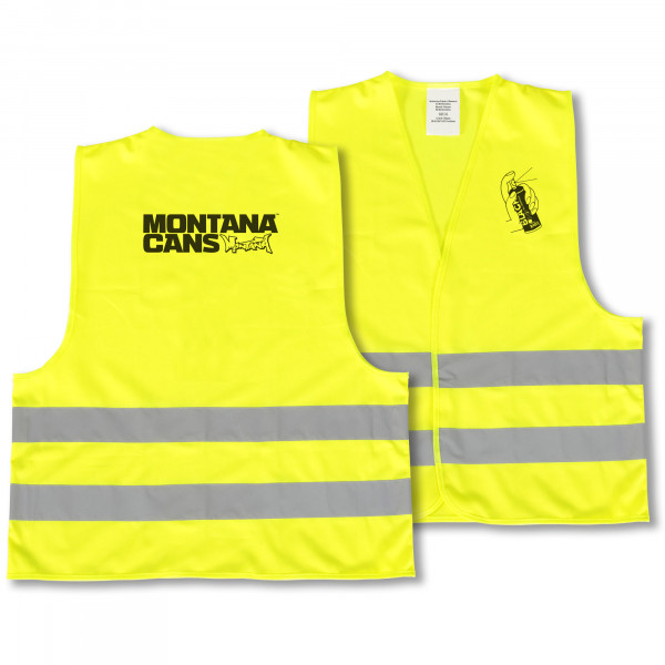 MONTANA REFLECTIVE VEST YELLOW