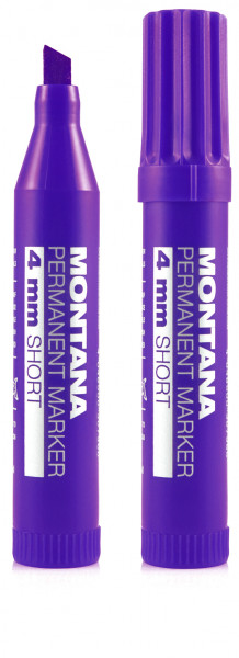 Montana Permanent Short Marker 4mm - Violet