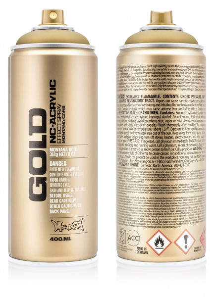 Montana GOLD 400ml - Metallic Colors