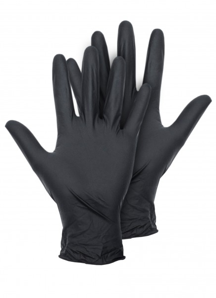 Montana Black Latex Gloves Gloves Safety Accessories
