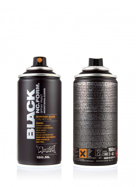 montana black 150ml black 50ml 600ml spray paint. Black Bedroom Furniture Sets. Home Design Ideas