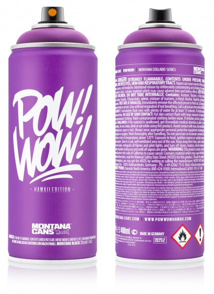 Montana Cans X Pow Wow Hawaii Collabo Series Limited