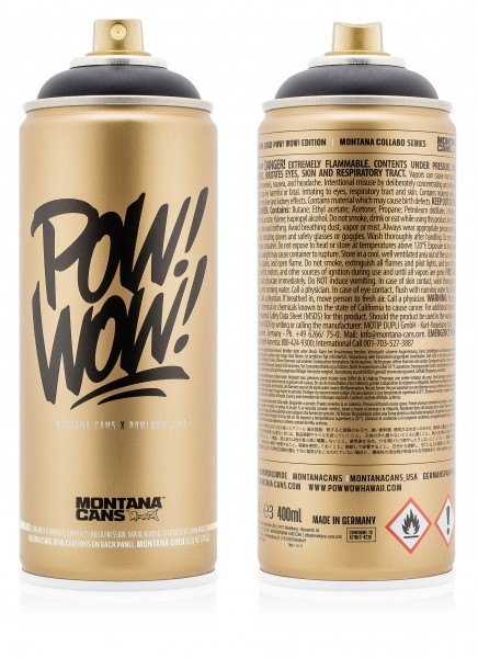 Montana Cans X POW! WOW! Hawaii