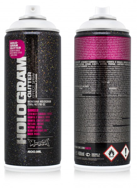 Montana HOLOGRAM Glitter 400ml