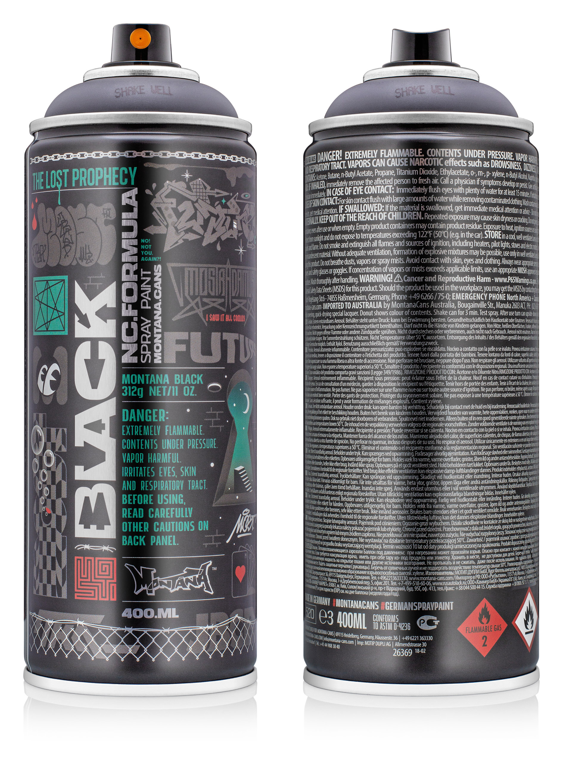 Black Artist Edition Most Montana Cans Highest Quality